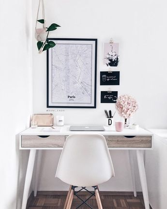 """DUNI ♥️ Designer & Blogger. on Instagram: """"I'm in love with my new workspace details 😍❤️ I would be so much more creative & productive when I could work at home 🙈 Wish you a great…"""""""
