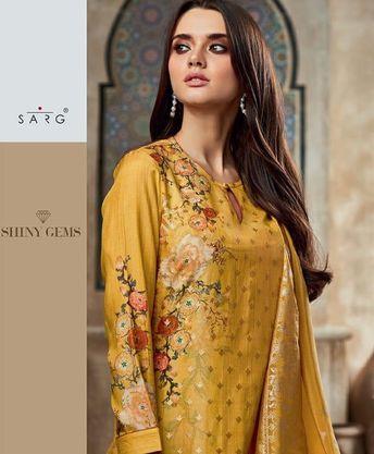 36fa407e3c Buy Sahiba Sarg Shiny Gems Beautiful Designer Salwar Suits 705