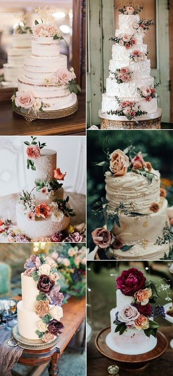 20 Gorgeous Vintage Wedding Cakes for 2019 Brides