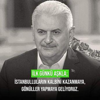 """#TrabzonBinaliBaşkanla  İstanbul daha güzel olacak.  Onunla Yol Yürümek ne Büyük Gurur, ne Büyük Mutluluk. #WeLoveErdogan  #TevazuSamimiyetGayret #Tevazu #Samimiyet #Gayret #ÖnceMillet #ÖnceMemleket #İradeErdemCesaret """" #İrade #Erdem ve #Cesaret """" Demektir  #RecepTayyipErdoğan #ErdoğanDemek #Devam #ÖnceMilletÖnceMemleket #VakitTürkiyeVakti #MilleteHizmetYolunda #BinAliYıldırım  #HizmetPartisiyiz #YaparsaAkpartiYapar  #Akparti #Akpartiistanbul  @BY  @RTErdogan  @tcbestepe @BA_Yildirim @binali_yi"""