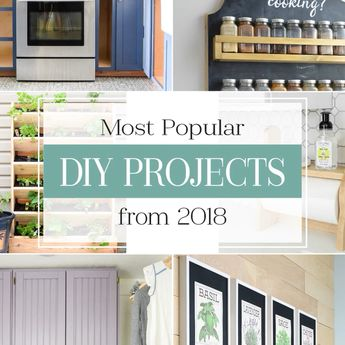 Popular DIY Projects of 2018