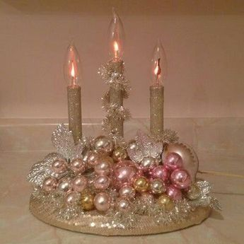 30+ Elegant Christmas Candles Decoration Ideas