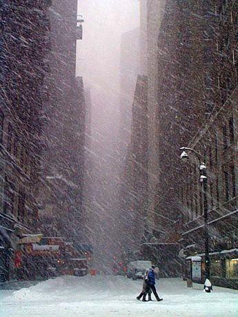 20 photos magnifiques de New York sous la neige ! Le décor de rêve pour Noël...