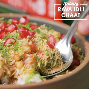 Ingredients : MTR Rava Idli Mix - 1 packet Sweet Curd - 1/2 cup Tamarind Chutney - 1/2 cup Green Chutney- 2 tbsp Yellow Sev - 1 tbsp (for garnish) Chaat masala - 1/2 tsp Red Chilli Powder - 1/2 tsp Bondi - 3 tbsp Dal moth - 2 tbsp Chopped onion - 2 tbsp Chopped Tomatoes - 2 tbsp Pomegranate Kernels - 2 tbsp Fresh chopped coriander - 1 tbsp Oil for frying Check out the link below to find out more: