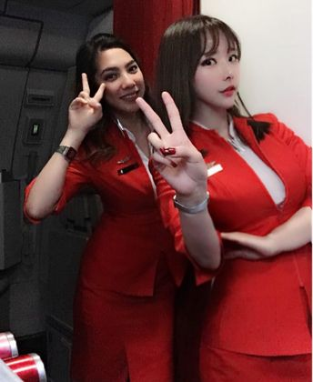 【Malaysia】Air Asia cabin crew / エアアジア 客室乗務員【マレーシア】