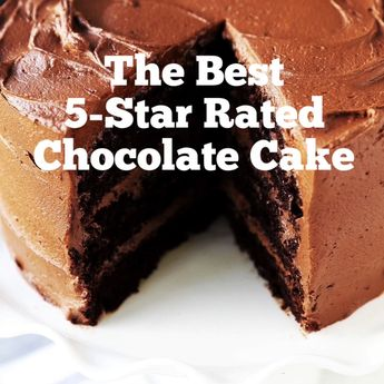 The BEST Chocolate Cake Recipe. How to make the perfect homemade chocolate cake. 5-Star Rated Chocolate Cake Recipe. www.modernhoney.com #chocolate #chocolatecake #cake #chocolatecakerecipe #homeamdechocolatecake #chocoholic #chocolatedessert
