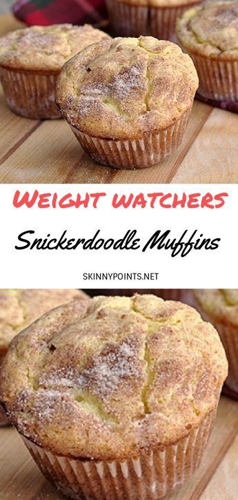 Snickerdoodle Muffins - #weightwatchers #weight_watchers #Muffins #Snickerdoodle #recipes #smartpoints