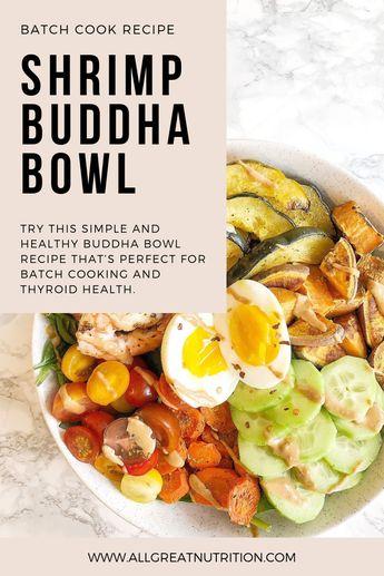 Buddha Bowl Recipe for Thyroid Health