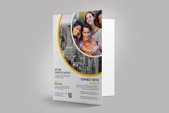 Sleek Presentation Folder Template 002883 6