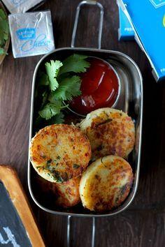 Cheese Rava Cutlet