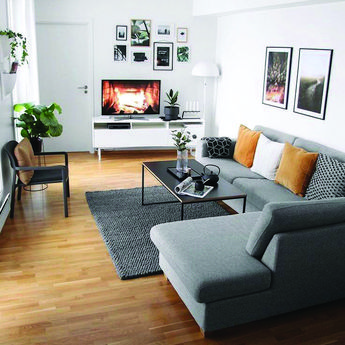 18 gorgeous grey living room tips