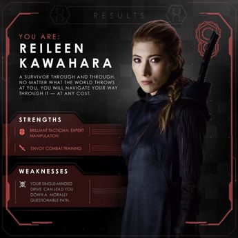Reileen - total bad ass!! Altered Carbon