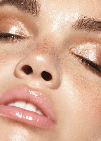 Fresh, dewy skin with Lupe Moreno & Yoli of Osbrink Models, Los Angeles
