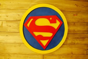 Excited to share this item from my #etsy shop: Superman logo,Wood wall decoration,Superman symbol,Superman emblem made of wood ,Wall hanging,Wood design,3d sign #homedecor #housewares #moving #kids #supermanlogo #woodwalldecoration #supermansymbol #wallhanging #wooddesign