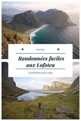 Rando aux Lofoten : Guide pratique et 5 beaux Itinéraires ( avec Cartes )