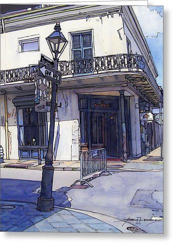 Street Corner 214 Canvas Print / Canvas Art by John Boles