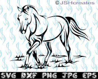 027b3e4af Horse svg, Stallion svg, Horse, SVG, Silhouette, Cut File, Clipart
