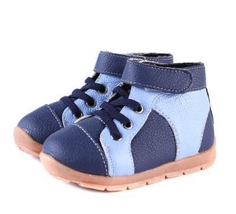 Cotton-Padded Boys Boots Shoes