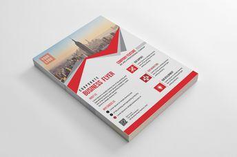 Riverside Modern Business Flyer Design Template - Graphic Templates