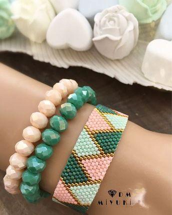 zıκzακ мøđeł • • • • #miyuki #bileklik #bracelet #happy #beads #handmade #beautiful #design #takı #trend #moda #fashion #like4like #style #details #like4like #art #girls #accessories #aksesuar #taki #elemeği #tasarim #photooftheday #picoftheday#instagood #love #instalove #instadaily#colorful #colors