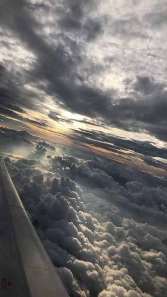 Picture of the Sky from a plane