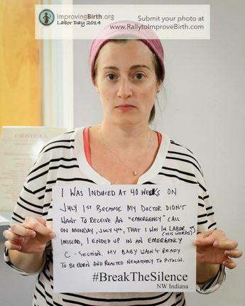 Birth trauma and abuse - break the silence