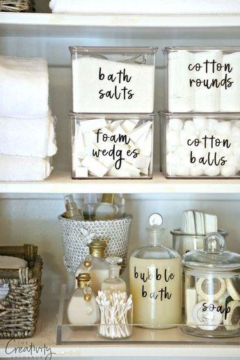 The 11 Best Bathroom Organization Ideas