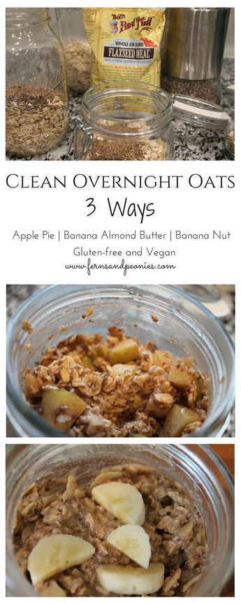 30-Days of Clean Eating — W3: Overnight Oats
