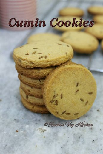 WHOLE WHEAT CUMIN COOKIES – Ruchi's Veg Kitchen