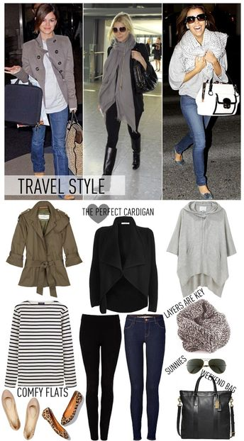 traveling style, flats, leggins or jeans, tote, scarf and blazer or warm vest! A must!! Four Seasons Carmelo Uruguay