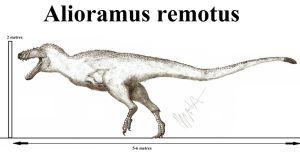 Alioramus remotus by Teratophoneus