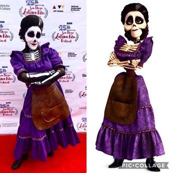 DIY Coco Imelda Costume