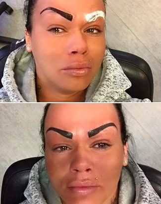 This Woman Has Words For The People Who Shamed Her Eyebrow Tattoos