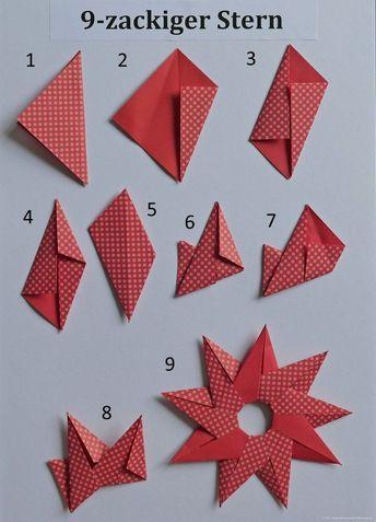 Sun Or 9 Ragged Star PaperZen Avec Origami Star Folding Instructions Et C Birgit Ebbert 9 Ragged Star Number 6 Origami Star Folding Instructions Sur La Cat Gorie Decoration Accessories
