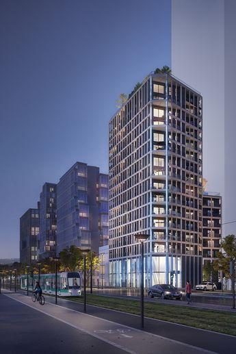 Découvrez des appartements d'exception du studio au 5 pièces duplex idéalement situés à Paris 13.