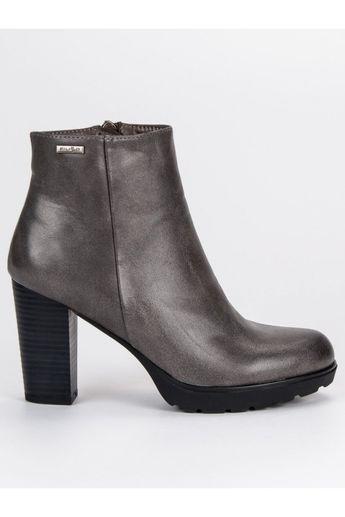 9bc4e51889de Sivé topánky na stĺpiku Filippo
