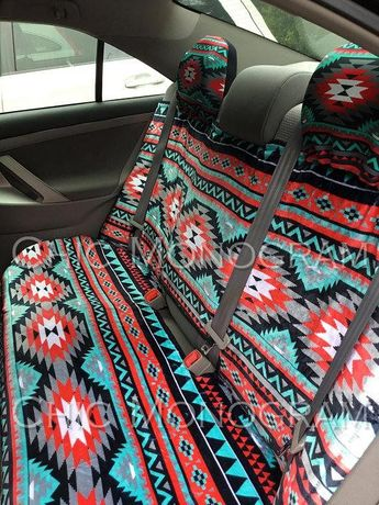 Aztec Car Seat Covers Tribal Back Cover Steering
