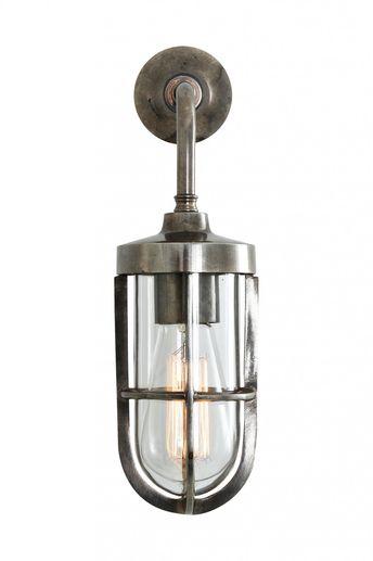Carac Well Glass Wall Light - Mullan Lighting