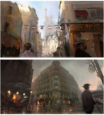Concept Arts de Assassin's Creed Unity, por Nacho Yagüe | THECAB