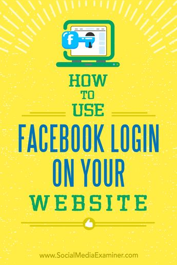 How to Use Facebook Login on Your Website