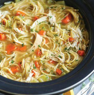 Crock Pot Chicken Noodle
