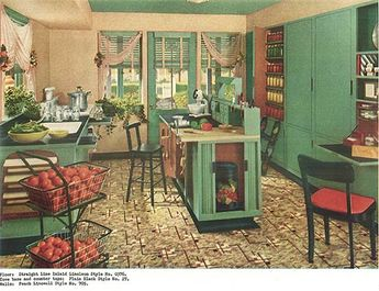 1940s decor - 32 pages of designs and ideas from 1944