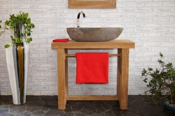Schon Waschbeckenunterschrank Holz