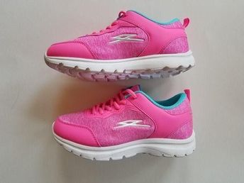 5cc695600569 NEW Girls Athletic Shoes Spectrun Size 3 Pink Turquoise