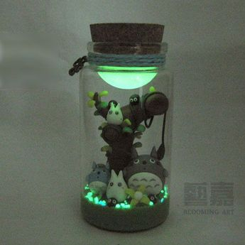 Cute little Totoro terrarium We are want to say thanks if you like to share this post to another people via your facebook, pinterest, google plus or twitter account. Right Click to save picture or tap and hold for seven second if you are using iphone or ipad. Source by : aliexpress.com