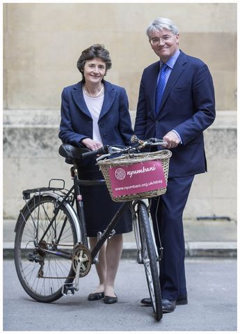 Former Tory Chief Whip Andrew Mitchell's bike, sold for a staggering £10,600 on eBay last night, with all proceeds going to Nyumbani UK