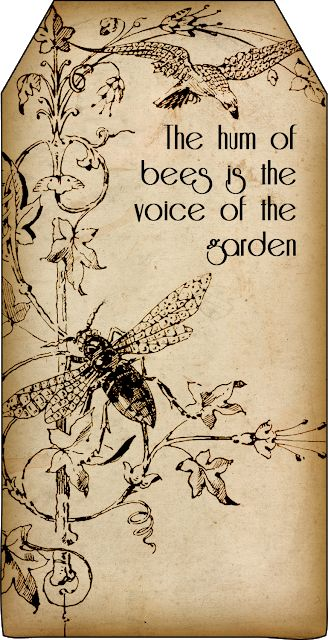 Free Printables: Bee and Beekeeping Tags
