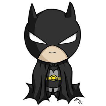 Chibi Batman by PhillieCheesie on DeviantArt