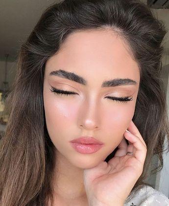 natural make up doll lashes