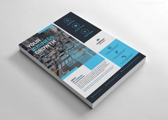 Rectangular Flyer Templates Design 002615 - Template Catalog
